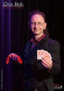 Magician Chris Hyde