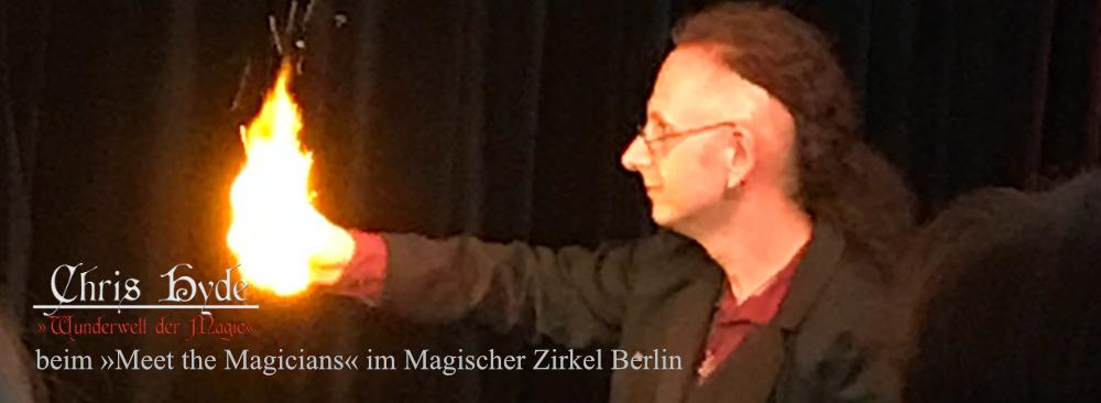 Magie im Magischer Zirkel Berlin